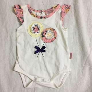 Baby Romper Newborn flower design