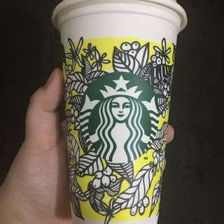 2017 Starbucks reusable cup