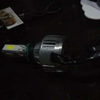 3 side led headlight bulb
