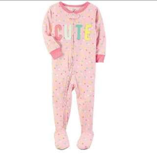 💥Lastpiece💥18M Carter's 1-piece Snug Fit Pajamas
