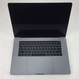 Macbook Pro 15 Inch Touchbar (Space Grey) with Extended Warranty