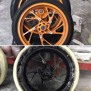Rims Spray - automotive paint, ✖️Not spray can