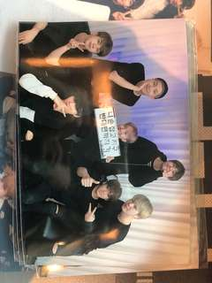 BTS printed photo