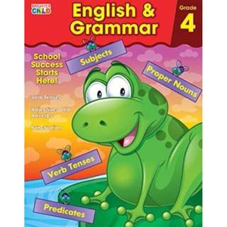 English & Grammar Workbook, Grade 4