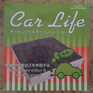 Air Con filter with charcoal coat for Mitsubishi colt/plus/cvr