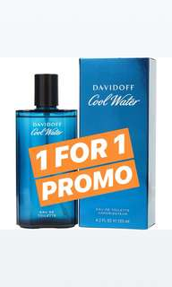 1-for-1 Promo: Davidoff Cool Water 125ml