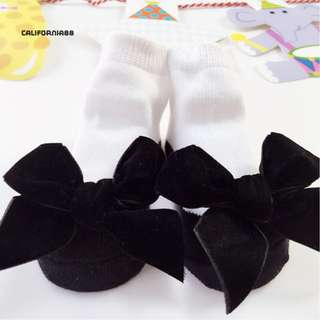 Baby Bowknot Cotton Breathable Casual Socks