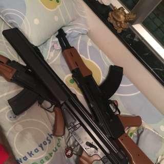 電動Ak-47 airsoft BB gun
