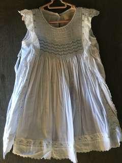 Light Blue Angel Dress