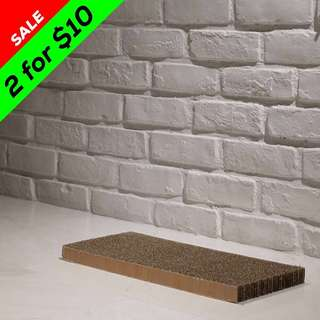 """Flat"" Cat Scratching Corrugated Board"