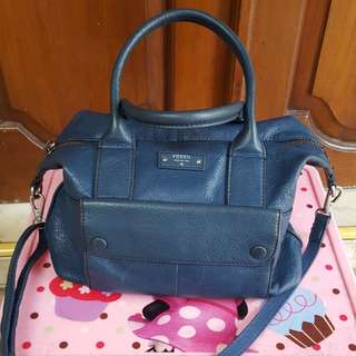 Fossil Blake Navy Authentic Preloved