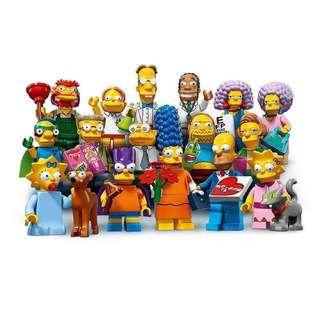 Lego Simpsons Minifigures (71009)