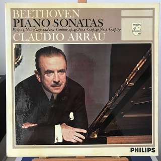 Beethoven Piano Sonatas 9, 10, 19, 20 & 25 Claudio Arrau PHILIPS SAL3611