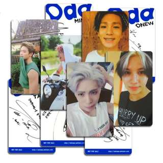 SHINEE ODD UNOFFICIAL PHOTOCARDS (B VER.)