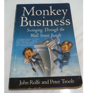 [Educational Book] Monkey Business: Swinging Through the Wall Street Jungle