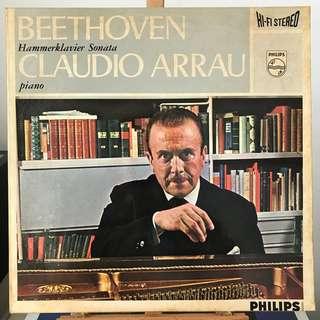 Beethoven Piano Sonata 29 Hammerklavier Claudio Arrau PHILIPS 835208 AY