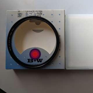 77mm B+W MRC XSP UV fliter