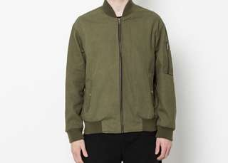 Plane Clothes Army Bomber Jacket