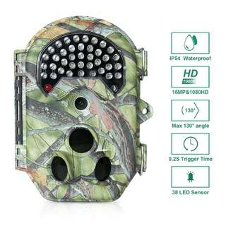 FLAGPOWER 16MP 1080P HD Trail Camera