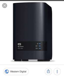 WD MyCloud EX2 Ultra 2-bay NAS server 0TB
