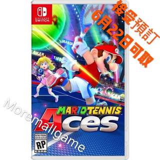 預訂全新NS Switch Mario Tennis Ace