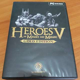 Heroes of Might and Magic V Gold Edition (Pc Dvd)