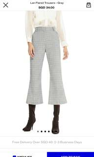 Pomelo Lan Flared Trousers
