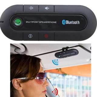 Bluetooth Multipoint Speakerphone Handsfree Car Kit