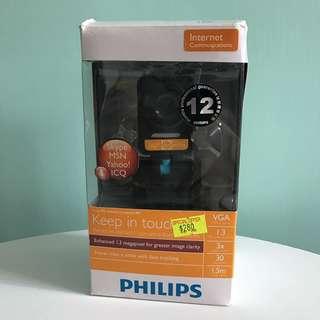 [Philips] PC Webcam 1.3 Megapixel 130萬像素 SPZ3000