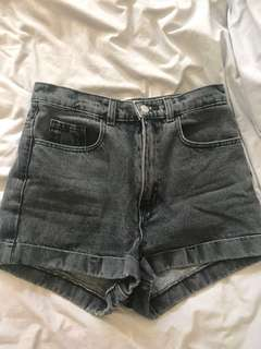American Apparel high waisted shorts sz 27 XS-S