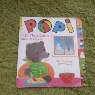 French Book - Popi