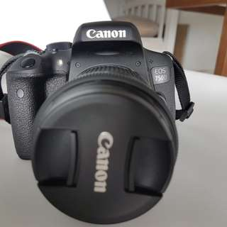 Canon Eos 750D with EF-S 18-55mm IS STM
