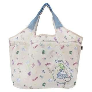 Japan Disney Alice in Wonderland Compact Basket Eco Bag