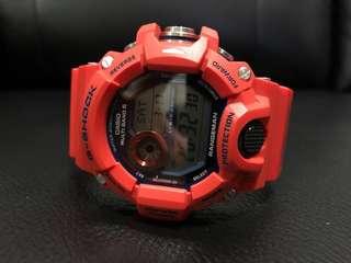 Casio G shock rangeman kobe city 神戶貓 gw9400