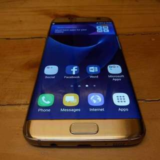 Samsung Galaxy S7 Edge 32GB 4GB ram Platinum Gold 4G LTE