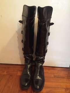Armani long boots