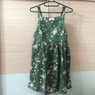 🎉搶。全新吊帶森林系洋裝