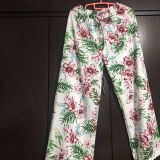 BN Floral Pants