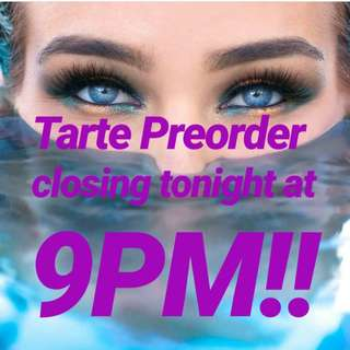 [ Preorder ] Tarte Mermaid Collection OPEN TILL 9 PM TONIGHT