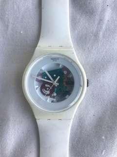 Swatch watch white