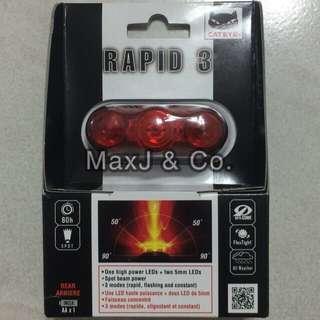 Rear Safety Light Cateye Rapid 3