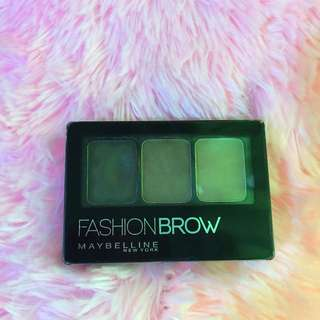 Fashion Brow 3D brows and nose palette (Dark brown)