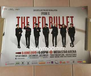 BTS TRB IN MALAYSIA LIMITED POSTER