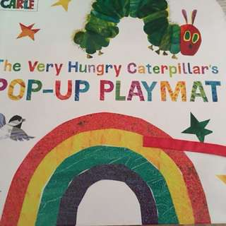 Eric Carle's The Very Hungry caterpillar pop up playmat