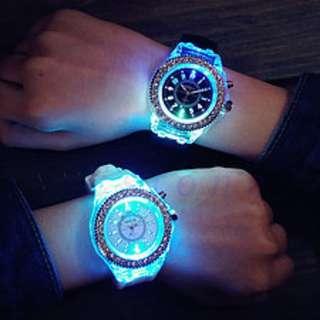 Unisex Best Friend Glow Up Diamond Watch
