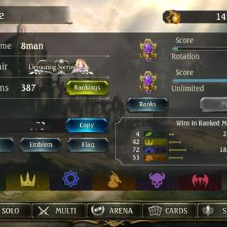 Shadowverse Account for Sale