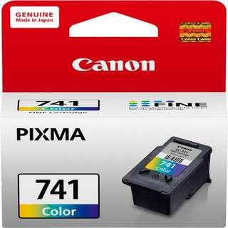 [NEW] Canon 741 Original - Coloured Ink