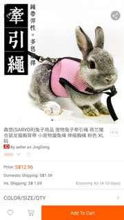 Rabbit/Guinea Pig Leash
