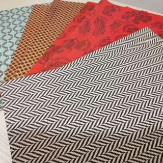 Paper material for art craft, deco