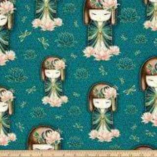 Kinmidolls Fabric Cotton Woven